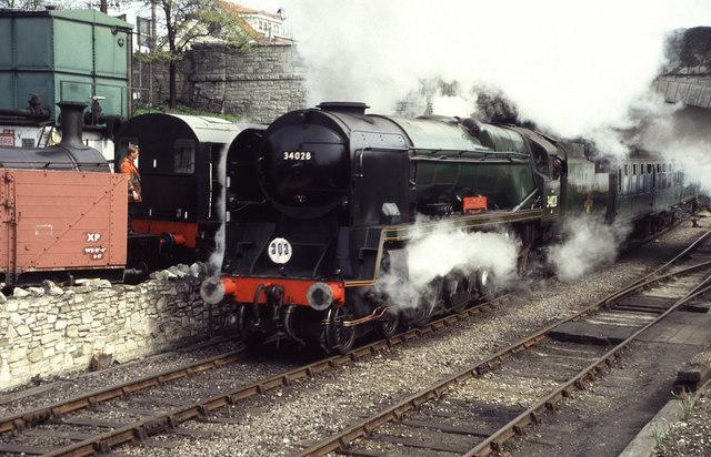 Swanage Railway - 34028 Eddystone
