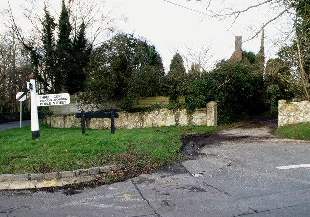 Signboard, Rushlake Green