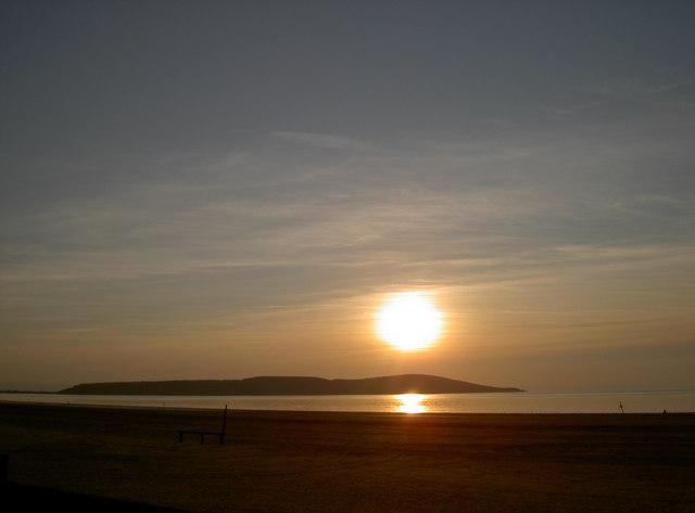 Brean Down sunset