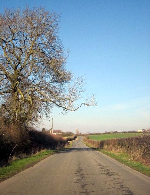 Newland Common Lane, Worcestershire