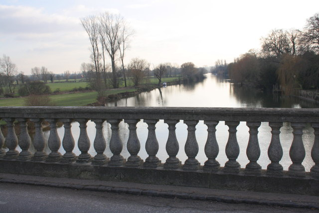 The Thames from Wallingford Bridge