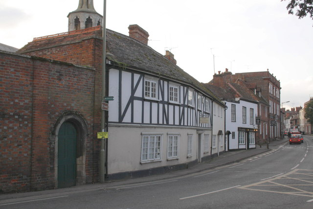 The south side of the High Street