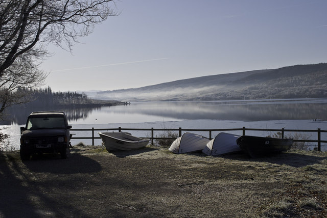 Boats for hire at Lairg
