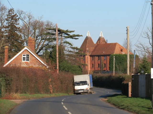 Oast House at Ibornden Farm, Frittenden Road, Biddenden