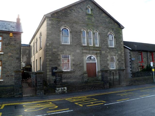 Grade II listed Ainon Welsh Baptist Chapel, Ynyswen