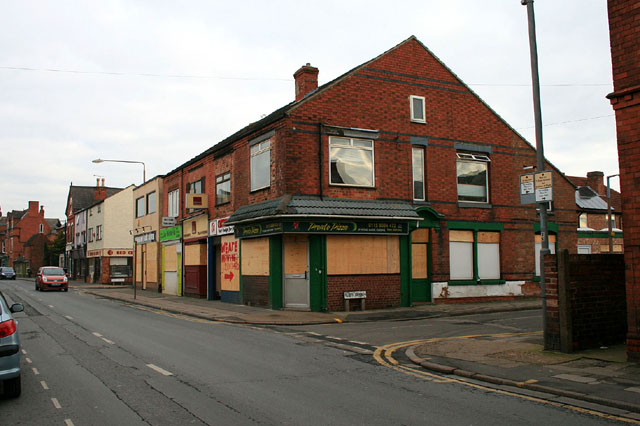 Shops due for demolition