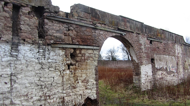 Walled garden, Edmonstone