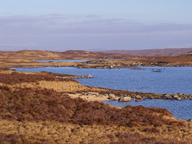 Looking towards the east end of Loch Ba