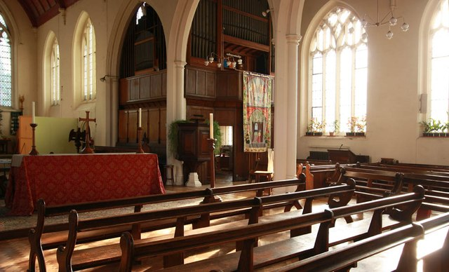 St Barnabas, Browning Road, Manor Park - Organ