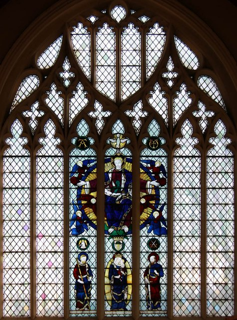 St Barnabas, Browning Road, Manor Park - Stained glass window