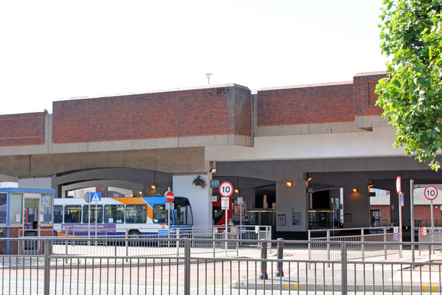 Lincoln City bus station