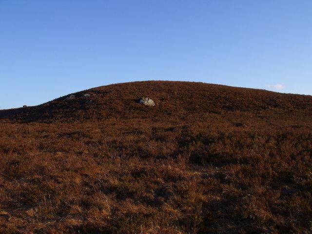 Point 326 north of Loch Ba on Rannoch Moor