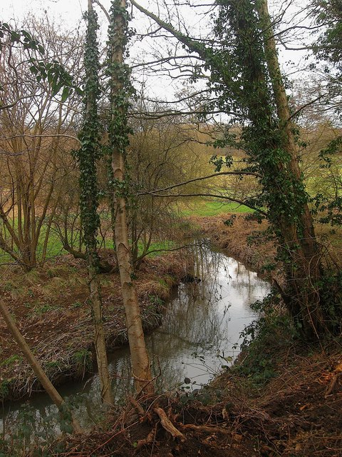 Site of Mill Pond, Stream Mill