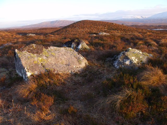 Boulder group on Rannoch Moor