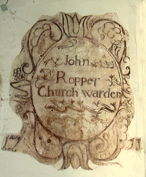 St Peter's church in Blaxhall
