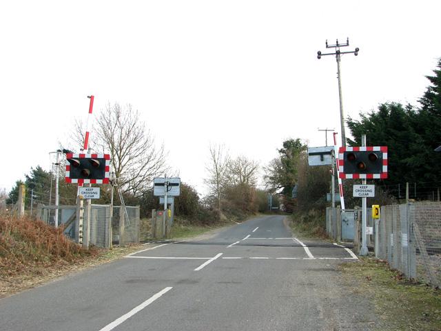 Beversham level crossing, Blaxhall