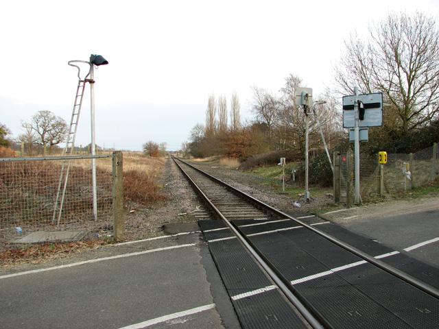 This way to Saxmundham