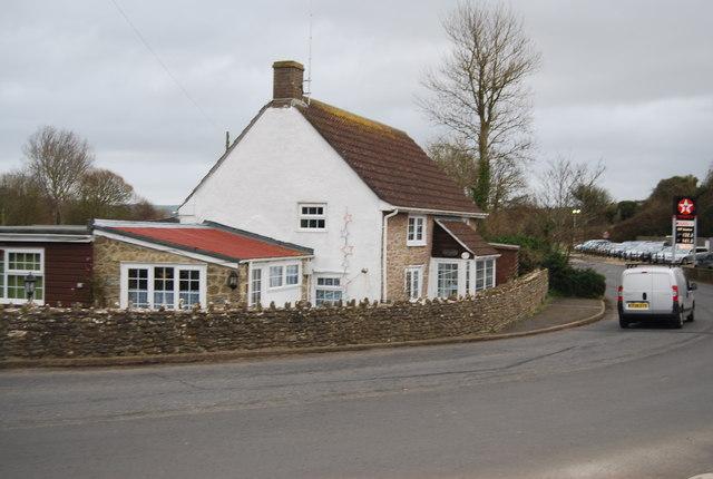 Cottage on the edge of Burton Bradstock
