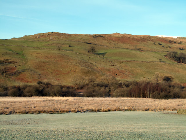 Frosted fields in Kentmere valley