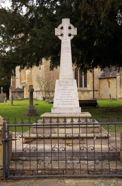 The war memorial by St Mary's Church