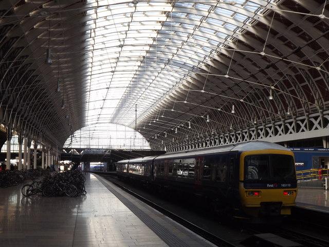Paddington Station, Eastern Arch