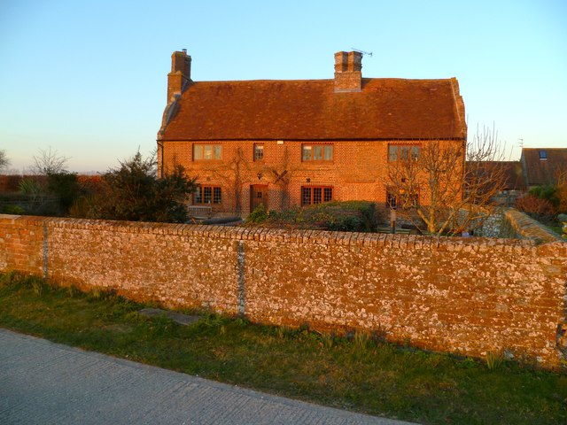 The house at Oldplace Farm