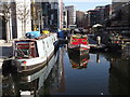 TQ2681 : Narrowboats in Paddington Basin by Colin Smith