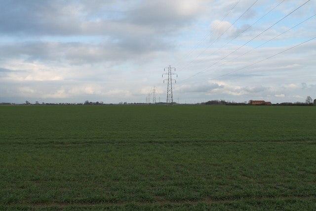 Electricity Pylons near High Ferry