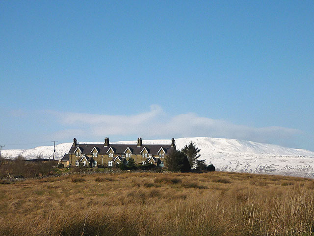 Railway cottages at Salt Lake near Ribblehead