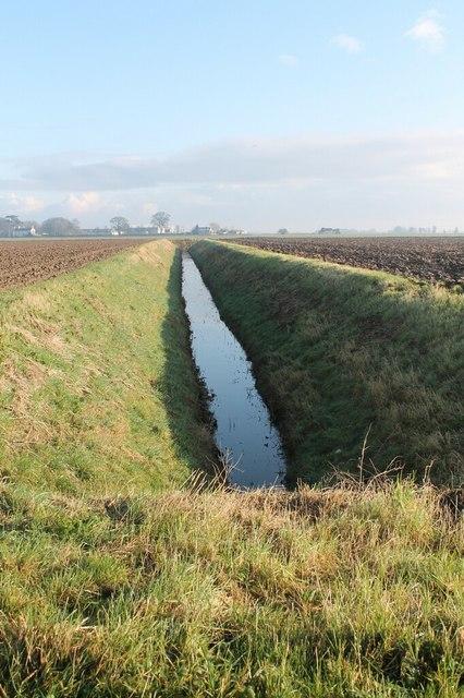 Drain by Grovefield Lane, near Fishtoft