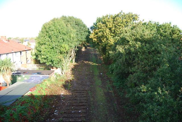 Fareham to Gosport BRT - View from Gregson Avenue Bridge (5)