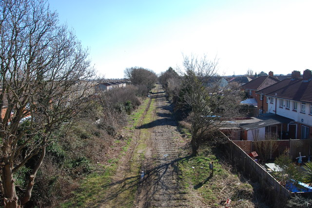 Fareham to Gosport BRT - View from Gregson Avenue Bridge (6)