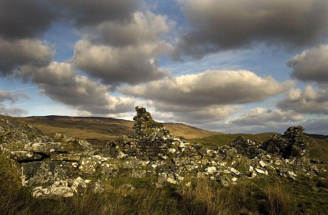 Ruins of Ballynaughton More, Islay