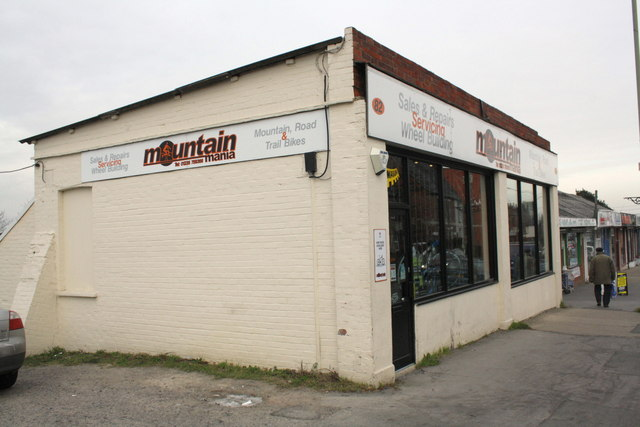 'Mountain mania' and other shops on The Broadway