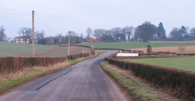 Road to Husthwaite