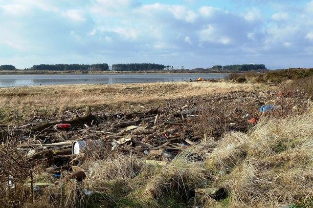 High Tide Mark on the Garnock Estuary
