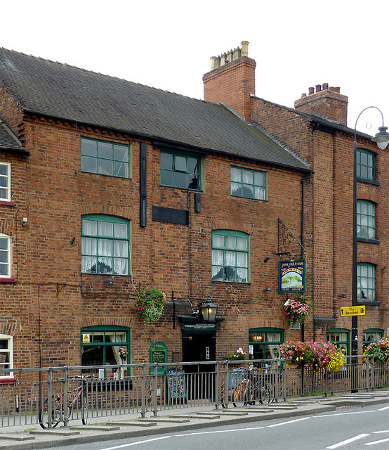 The Swan Inn at Stone, Staffordshire