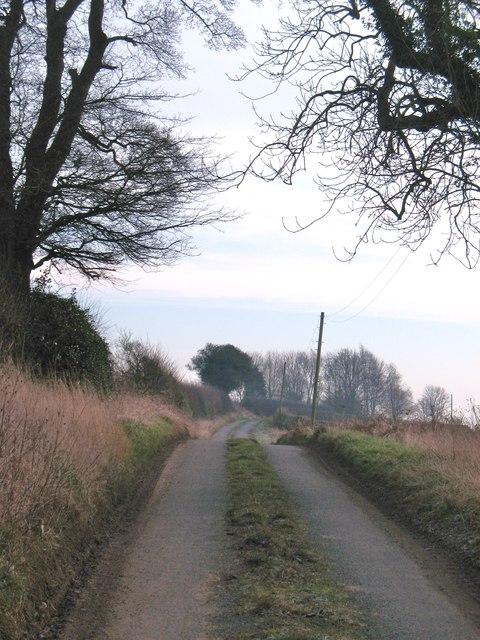 Lane to Oulston