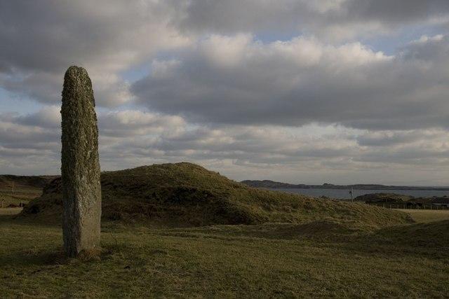 Standing Stone east of Port Ellen, Islay