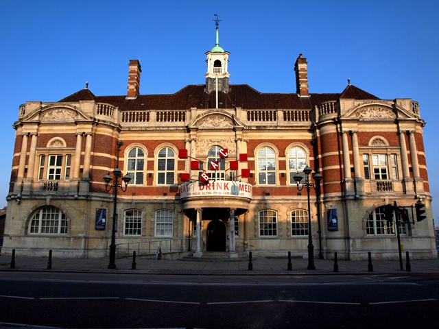 The former Battersea Town Hall