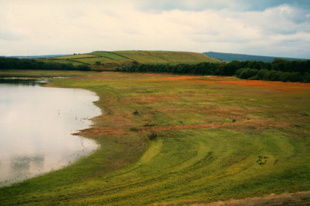 West side of Blackmoorfoot Reservoir