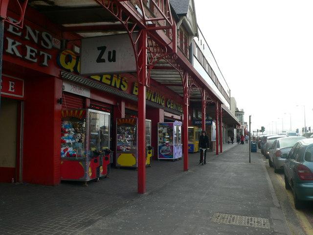 Amusement arcades on West Parade, Rhyl