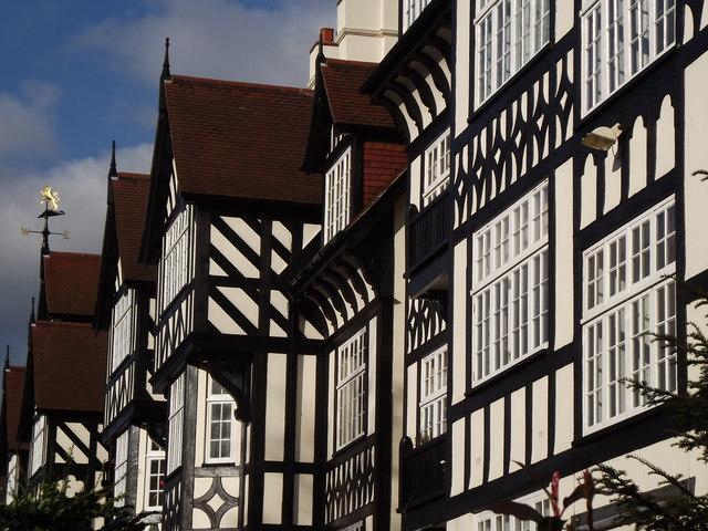 Mock Tudor, Maida Vale