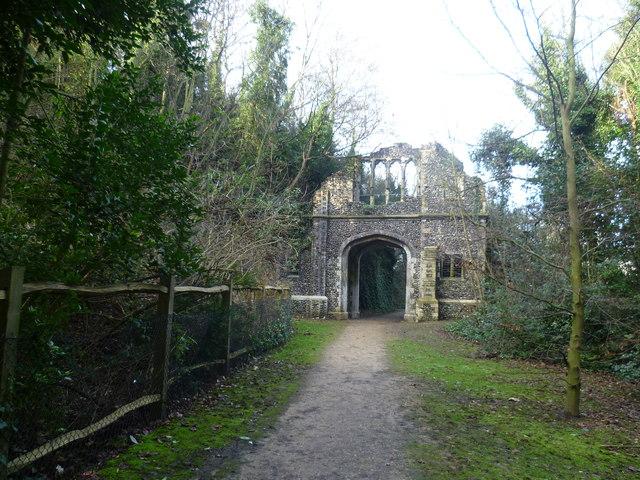 The Grange, Ingress Abbey