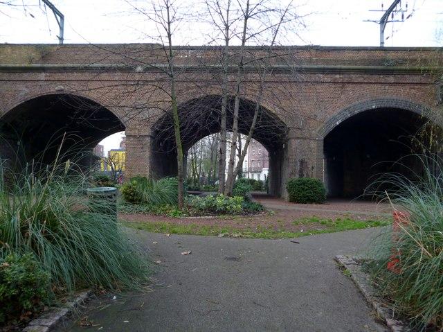 Railway arches, Camden Gardens NW1