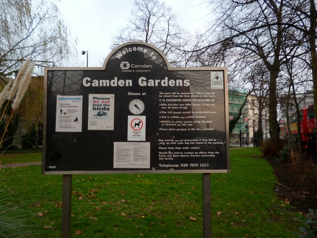 Welcome to Camden Gardens