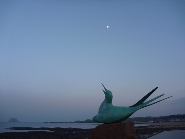 Coastal East Lothian : Rising For The Moon
