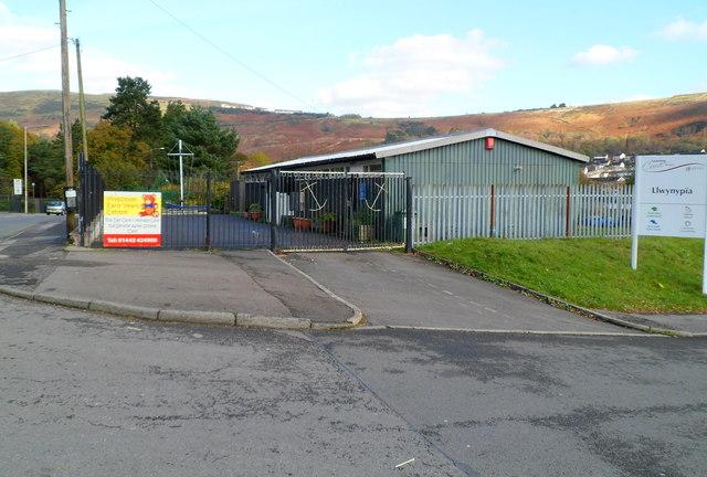 Rhondda Sea Cadets Corps compound, Llwynypia