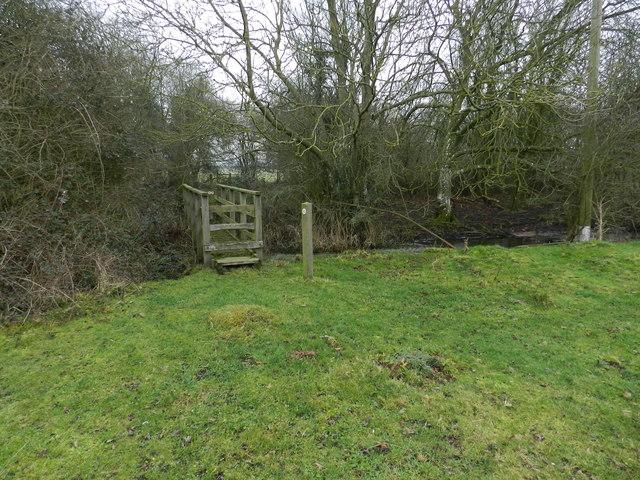 Footbridge near Lilac Cottage