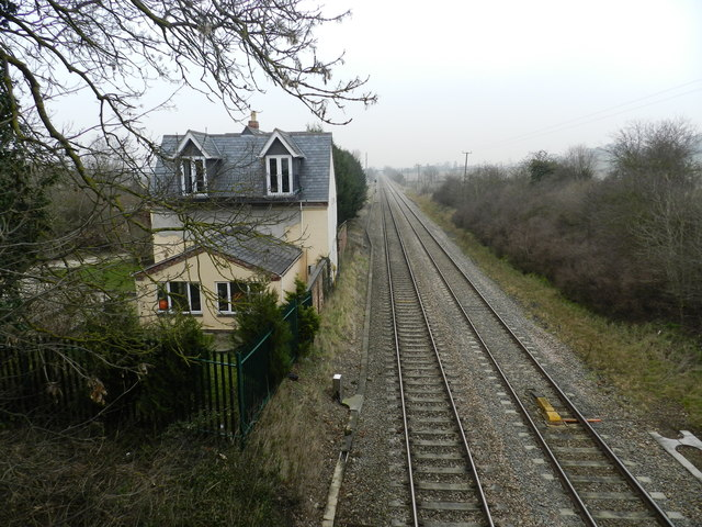Station House, from road bridge